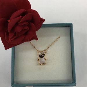 Rose Boy Necklace