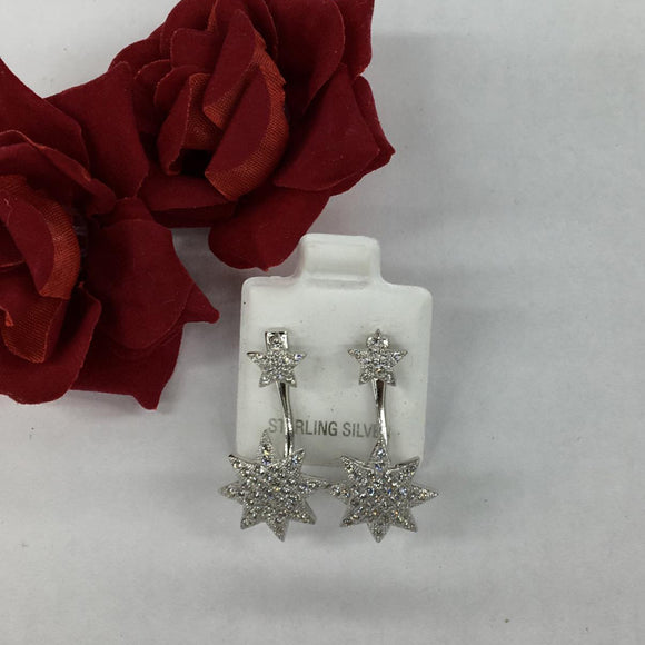 SIlver Designer Earrings