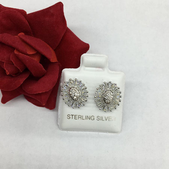 Shine Silver Earrings