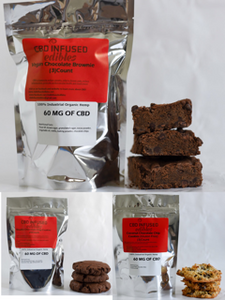 (3) 60 MG CBD Variety Pack (9 Baked Goods Total)