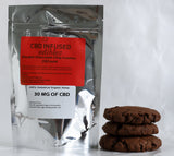 (3 Piece) 30 MG CBD Double Chocolate Chip Cookie