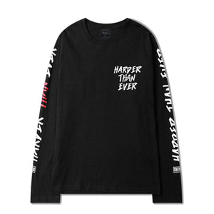 Harder Than Ever Long Sleeve Shirt - 4THELOW