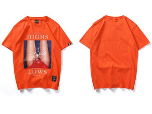 Highs & Lows T-Shirt - 4THELOW