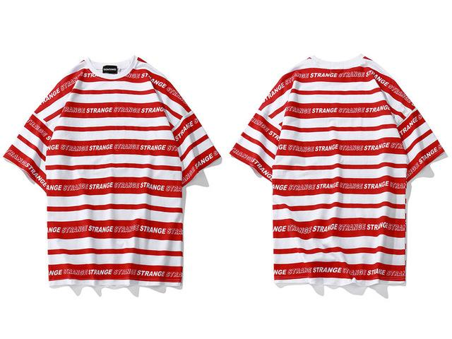 Striped T-Shirt - 4THELOW