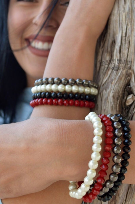The Pearl Collection bracelets
