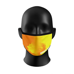 Chameleon Color Change™️  Face Mask - Orange / Yellow