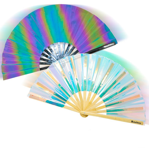 Oh No She Iridescent Fan Bundle