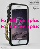 Trigger metal bumper for iphone