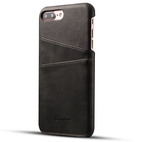 LuxuryLeather Wallet Case For iPhone