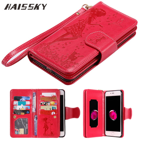 Wallet/phone case carryall By HAISSKY for IPhone