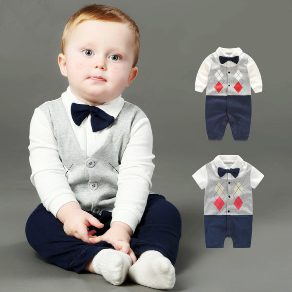 Leisure Little Gentleman's Romper