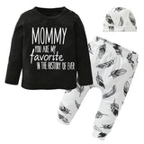 Daddy you are my favorite ever! Clothing set
