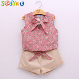 T Shirt +Pants Children Clothing Set
