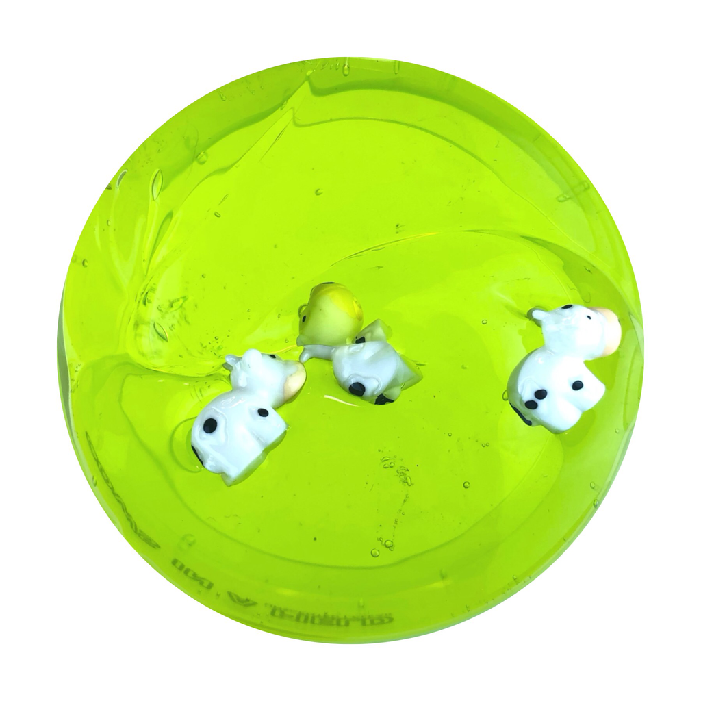 Cows in a Field Clear Slime