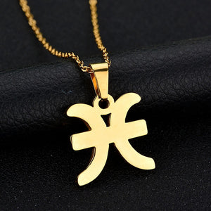 What's Your Sign Zodiac Charm Necklace