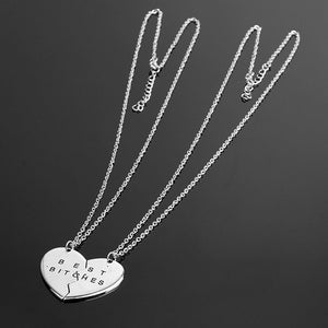 Best B*tches Friendship Necklace