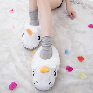 Fancy Feet Unicorn Slippers