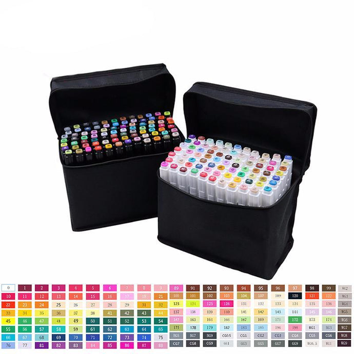 Professional Oil Based Art Marker Set