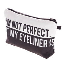 I'm Not Perfect Makeup Bag
