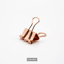 Rose Gold Metal Clips