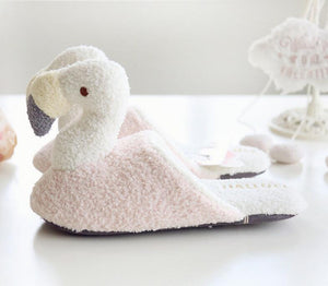 Soft Flamingo Slippers