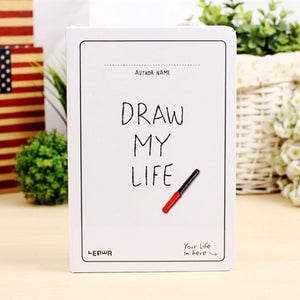 Draw My Life Sketchbook