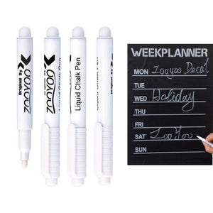 White Liquid Chalk Markers (3pcs)