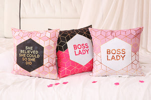 Boss Lady Cushion Cover