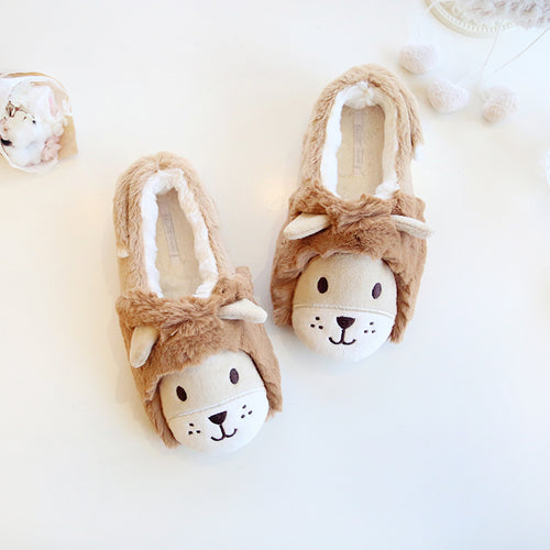 Lioness House Slippers