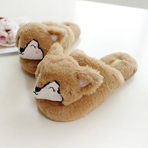So Foxy Slide Slippers
