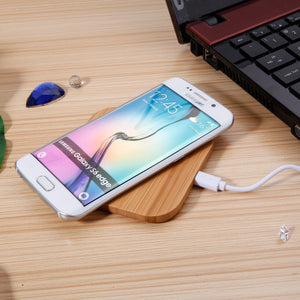 Bamboo Qi Wireless Charger