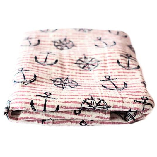 Land Ahoy - Muslin Wrap