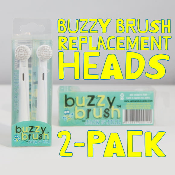 Buzzy Brush Replacement Heads (x2)