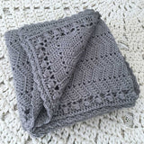 Ripple Blanket Grey