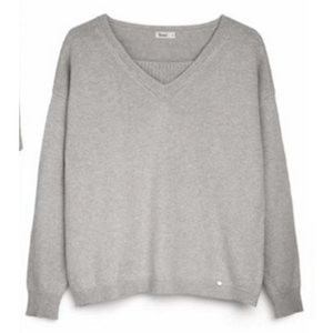 Grey Cashmere Knit