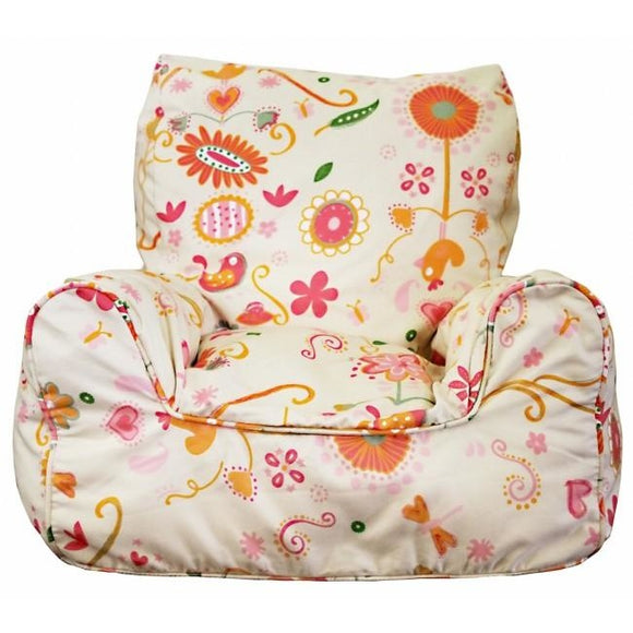 Spring Posie Bean Chair