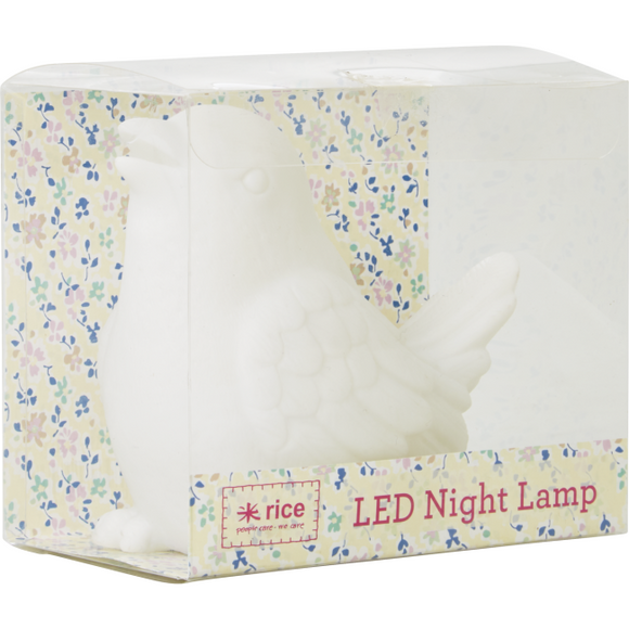 RICE - Colour Changing Night Light - Bird Lamp