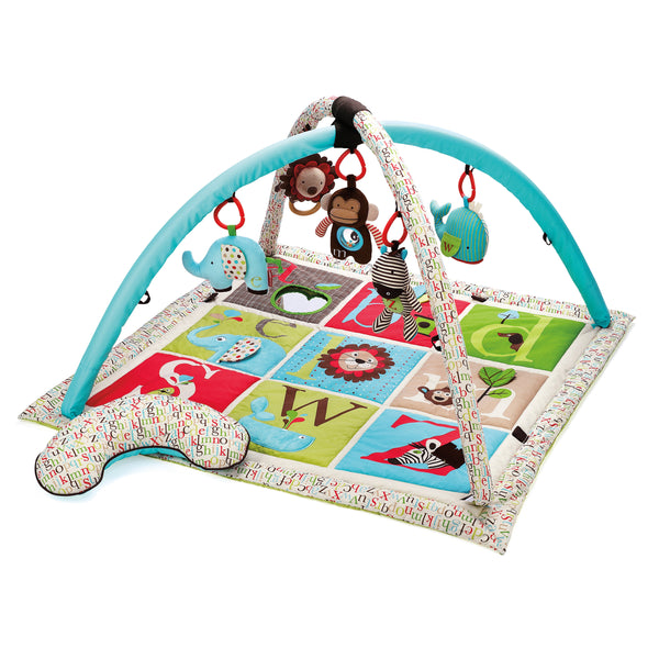 Skip Hop alphabet zoo activity baby gym
