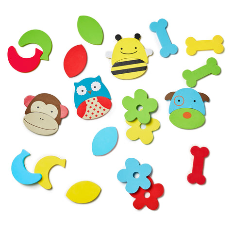 Skip Hop zoo mix & match foam pals bath toys