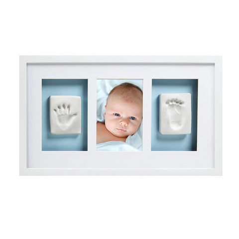 Pearhead baby prints deluxe wall frame
