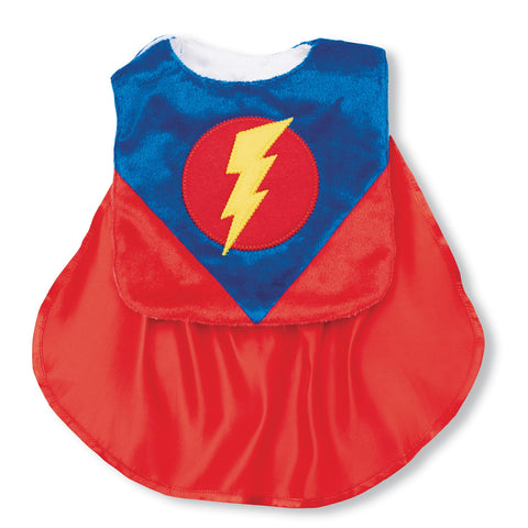 Mud Pie superhero bib