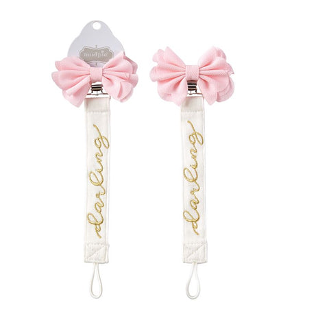 Mud Pie daring bow pacy clip