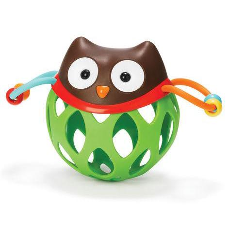 Skip Hop explore & more roll-around rattles owl