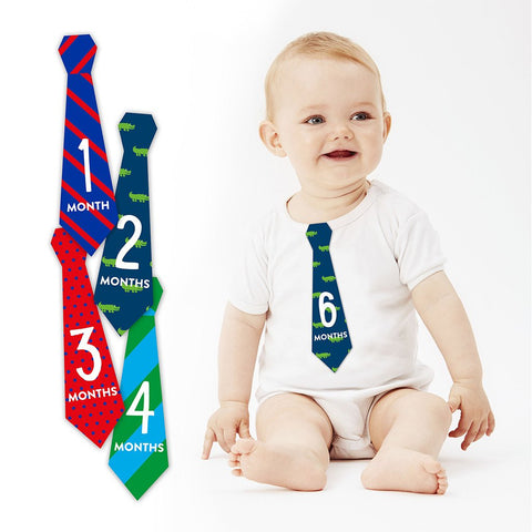 Pearhead baby first year tie stickers