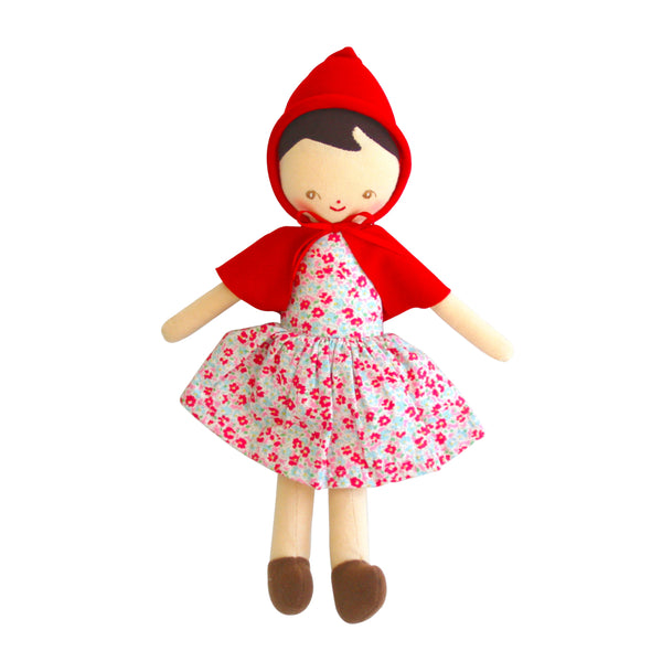 Alimrose lil red riding hood doll 25cm sweet floral