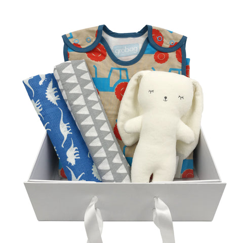 Sleepy head gift set for boys
