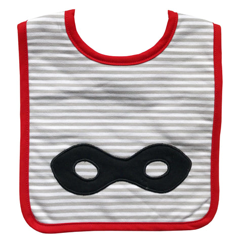 Alimrose super hero bib - Personalised name available