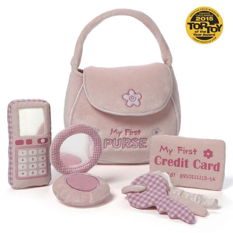 Baby Gund my first purse playset