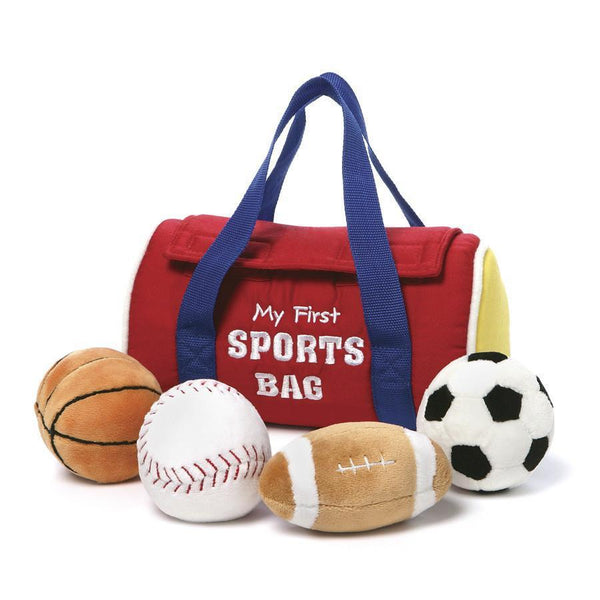 Baby Gund my first sports bag playset