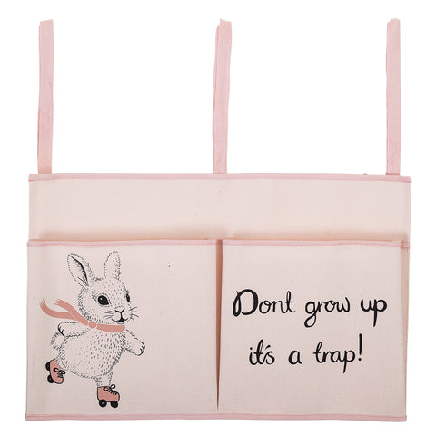 Bloomingville rabbit bedside storage bag